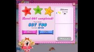 Candy Crush Saga Level 607 ★★★ NO BOOSTER