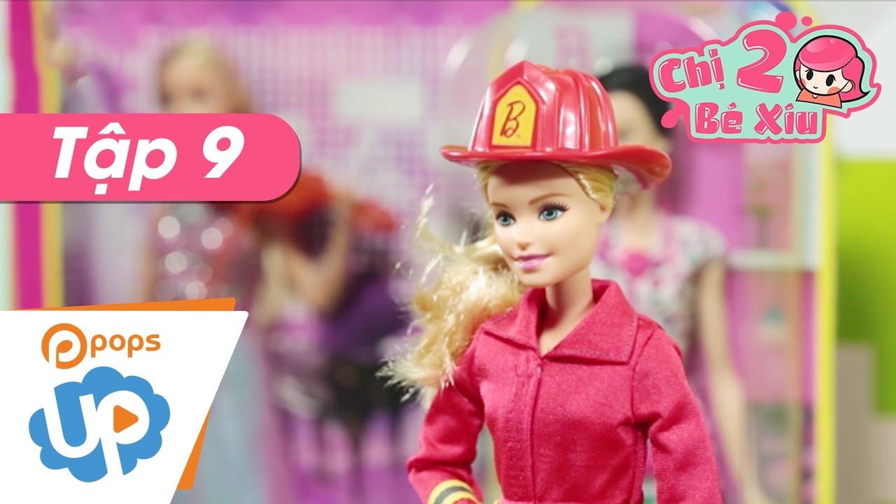 Chị Hai Bé Xíu - Tập 9 - Barbie Và Nghề Nghiệp - Búp Bê Barbie