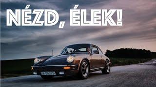 Gréta MEGY! A villany Porsche első próbaútja