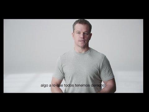 Dejá tu huella con Matt Damon y Stella Artois