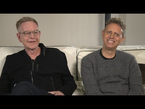 Depeche Mode en interview au micro de Thomas pour Radio Réveil (6h-9h)