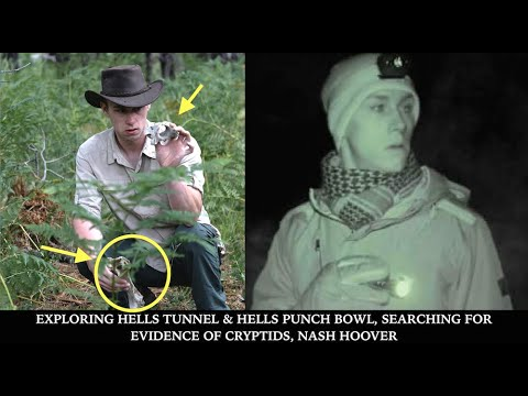 Exploring Hells Tunnel & Hells Punchbowl, The Van Meter Monster, Evidence of Cryptids, Nash Hoover