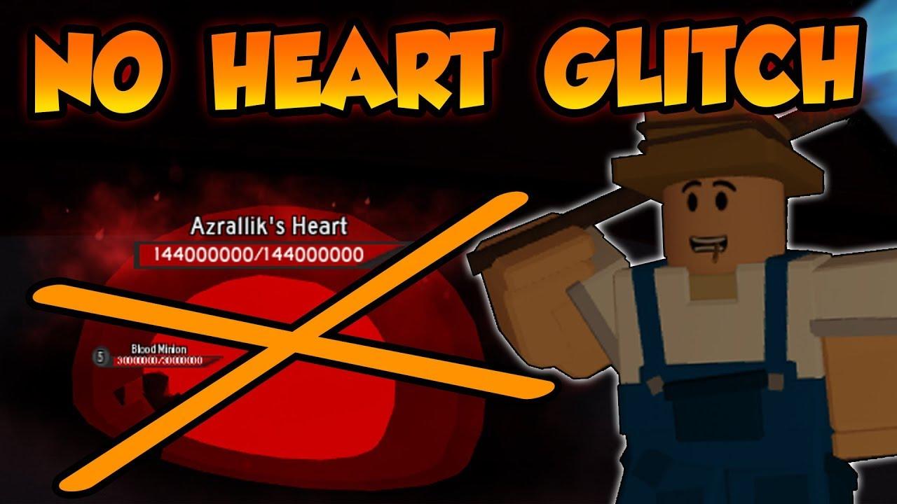 UNDERWORLD BOSS NO HEART DROP GLITCH!! (Requires OP Items) - ⚔️Roblox  Dungeon Quest