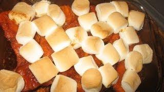 Candied Sweet Potatoes  - Marjorie's