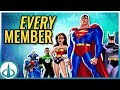 The DCAU Justice League - ALL MEMBERS   Watchtower Database