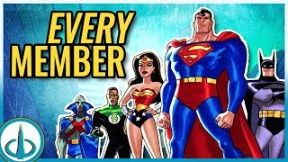 The DCAU Justice League - ALL MEMBERS | Watchtower Database