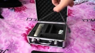 Обзор конденсаторный микрофон ProAudio um 200