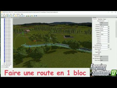 fs17 tuto faire une route en 1 bloc en une 3d farming simulator fs17 tuto faire route en