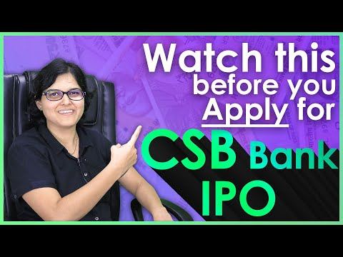 CSB Bank IPO Review | Should you apply for CSB IPO? 🤔