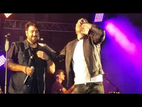 """ANTONIO OROZCO Y ANTONIO JOSE """"AQUI ESTOY YO"""" CONCIERTO SEVILLA 27/05/17"""