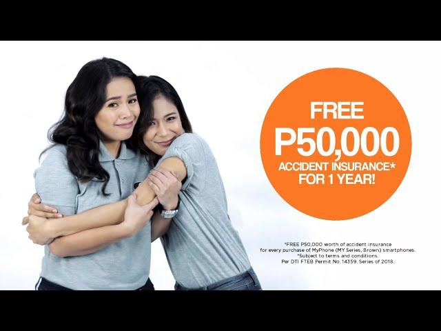 MyPhone FREE P50,000 Accident Insurance