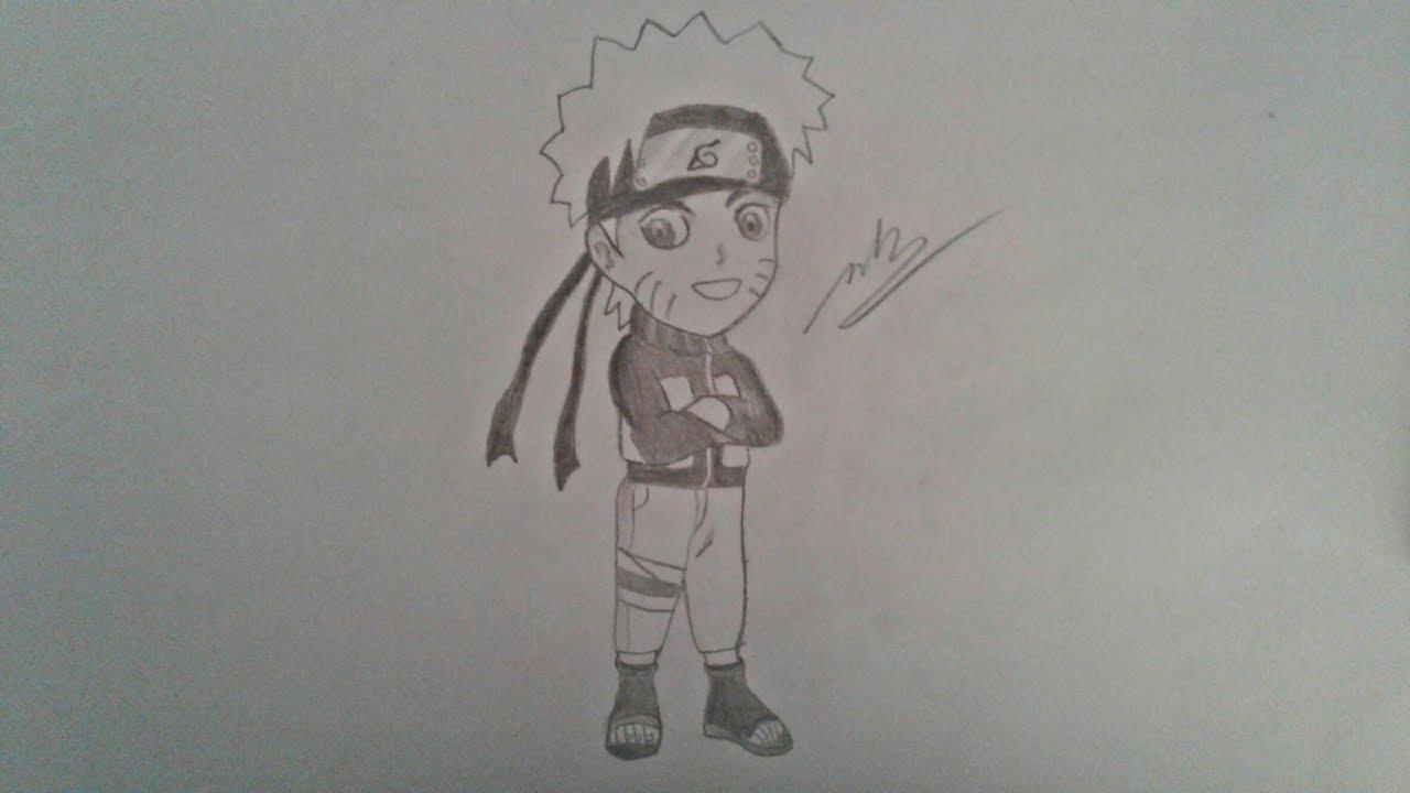 Vẽ Naruto chibi đơn giản – HTN channel