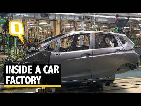 How Cars Are Made? A Visit to Honda's Cars Manufacturing Facility - The Quint