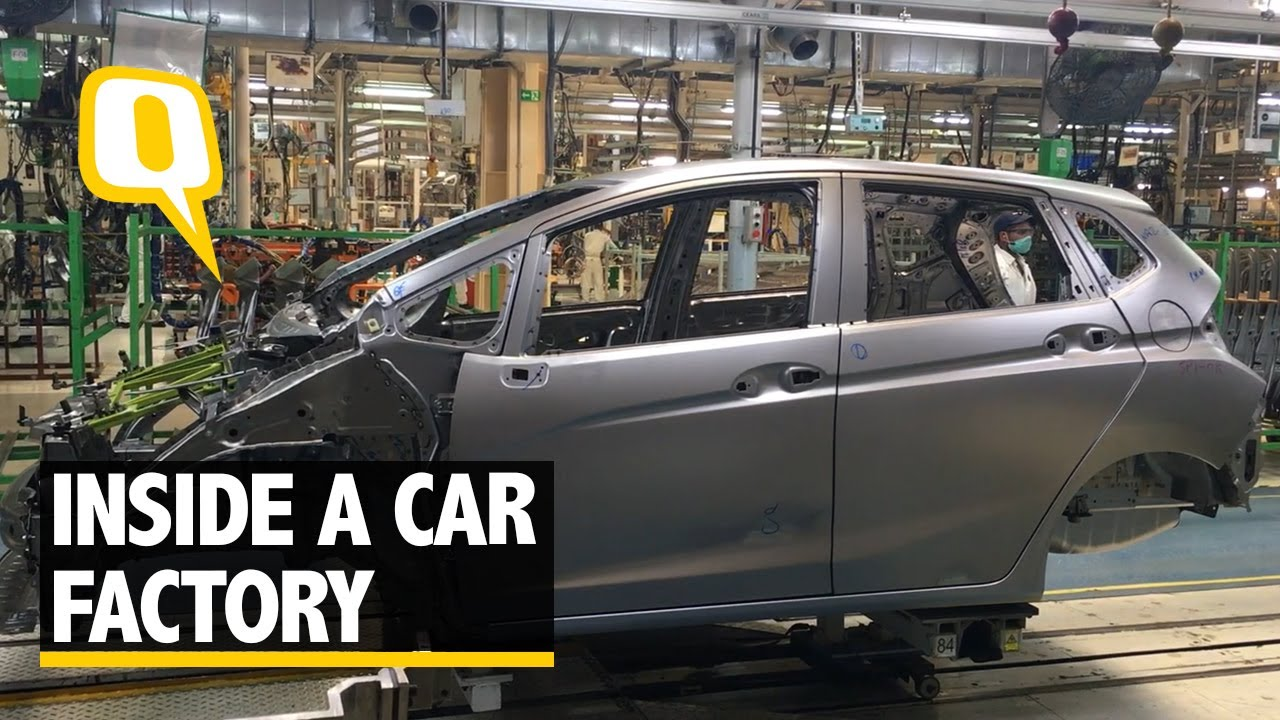 How Cars Are Made A Visit To Hondas Manufacturing Facility