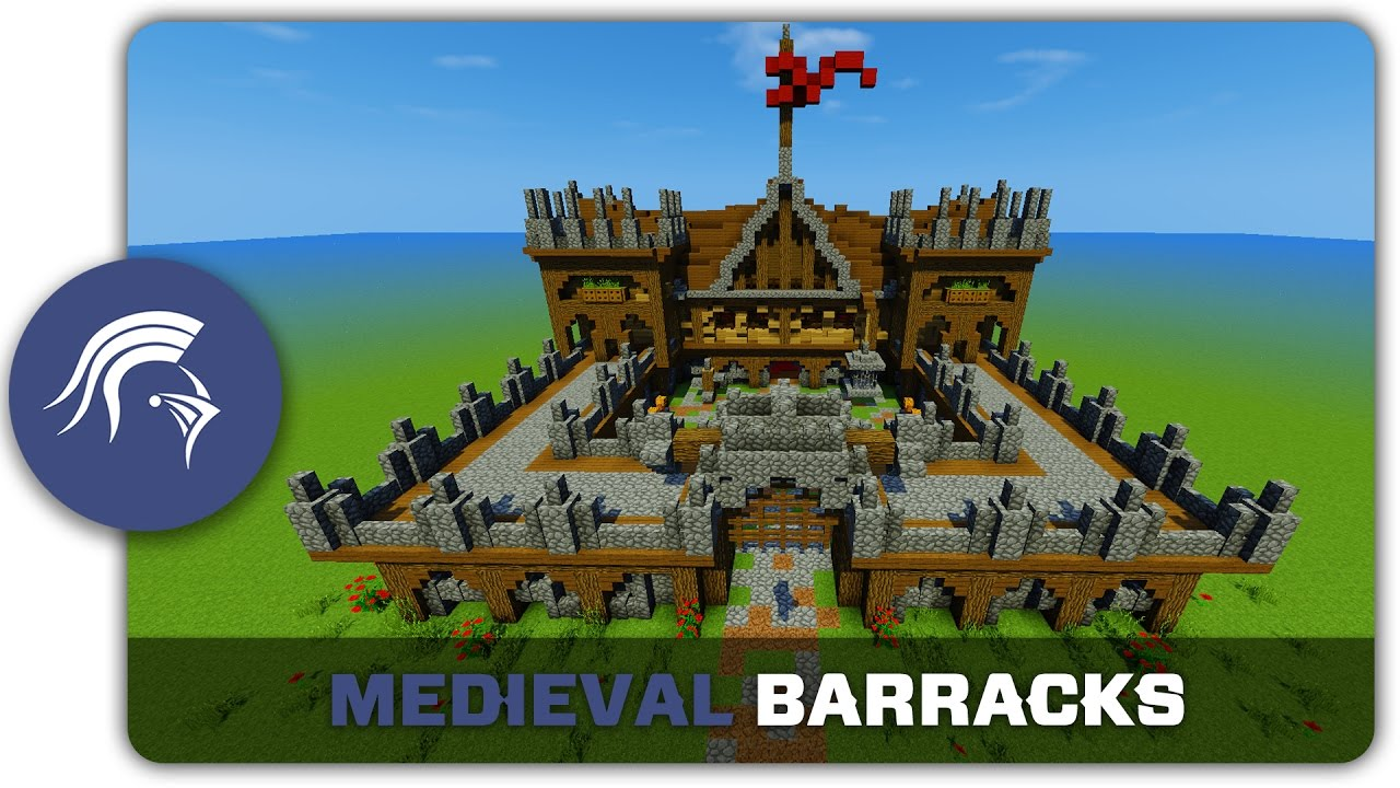 Minecraft Building Tutorial How To Build A Medieval