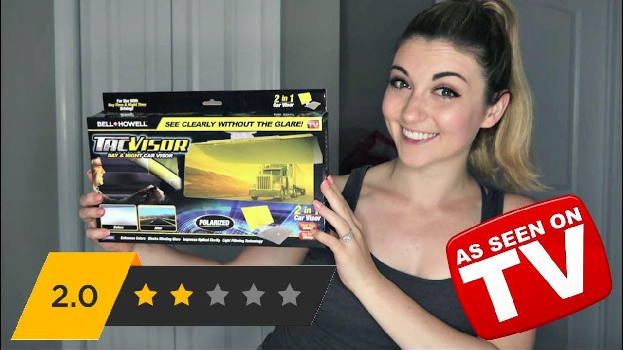 Tac Visor Review Anti Glare Car Visor As Seen On Tv ʘʘ Youtube