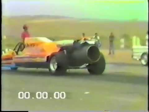 Wildfire Jet Dragster at Riverside International Raceway