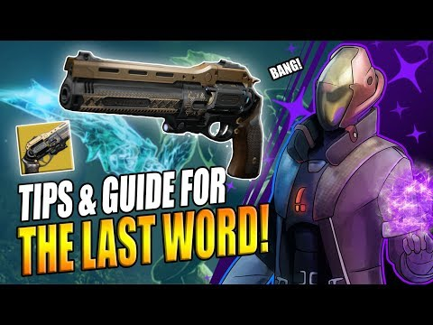 Download Destiny 2 How To Get The Last Word The Draw Exotic Quest
