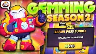 Gemming Season 2 Brawl Pass! - Unlocking Surge + Maxing! | Mecha Paladin, Pins & More! - Update!