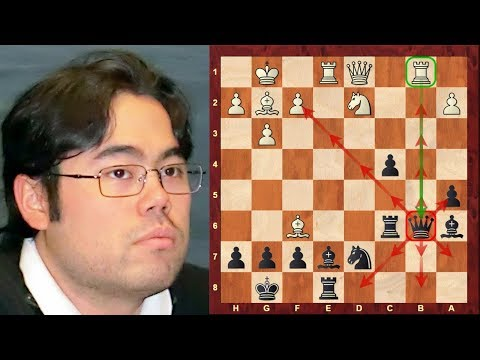 Super Chess GM || Hikaru Nakamura Top Eight Amazing Chess Sacrifices! (up until 2014)