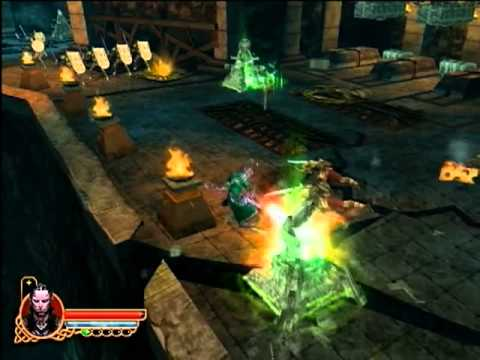 Ps2 Gaunlet Seven Sorrows Gameplay Youtube