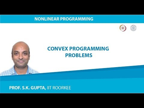 Lecture-05 Convex Programming Problems
