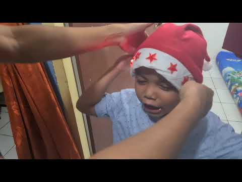 Santa Claus Jalan Malam 🤣 Zefanya Oyanio Vlog 2