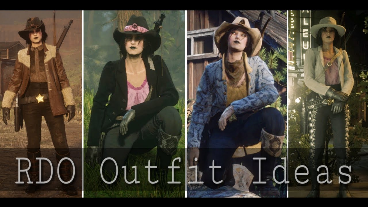 Red Dead Online NEW CLOTHING Outfit Ideas