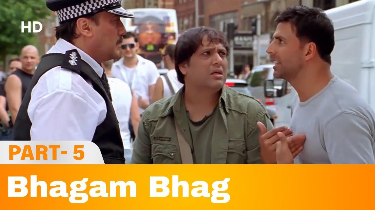 Download Bhagam Bhag (2006) -  Part 5   Akshay Kumar, Govinda, Paresh Rawal   Bollywood Comedy Movie