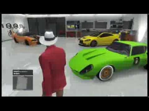 Gta v online mi garaje de supercoches gta 5 online my for Garajes gta v online