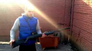 Тест пневматической винтовки Hatsan 125 TH 4,5мм(, 2014-02-28T13:53:46.000Z)