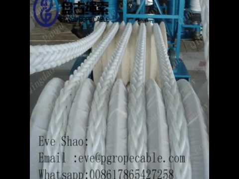 QINGDAO PANGU RTOPE CABLE COMPANY marine pp pe uhmwpe nylon rope