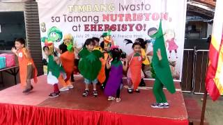 Nutrition Month Dance Entry