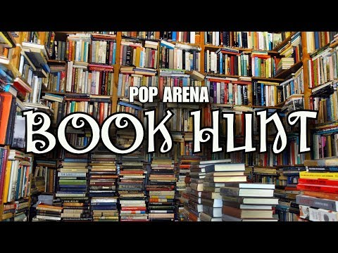 Pop Arena Book Hunt - The Search For Used Books
