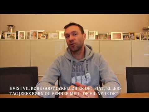 Jens Voigt klar til cykelstafetten i Rudersdal i 2017
