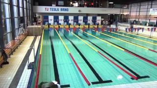 Stavba bazénu na VC Brna 2012