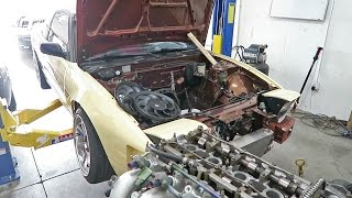 240sx Update - The Motor is Out... More Power?