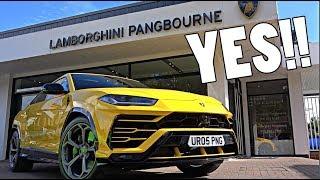 This Man Has Bought A Lamborghini Urus!!!