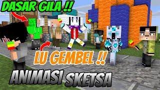 Erpan special movie Liburan erpan dan anto sekolah Animasi Minecraft Indonesia