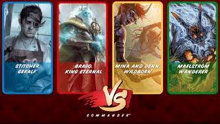 Commander VS S3E7: Stitcher Geralf vs Brago vs Mina and Denn vs Maelstrom Wanderer