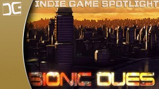 Bionic Dues Gameplay - A Strategic Turn-Based Roguelike - Indie Game Spotlight