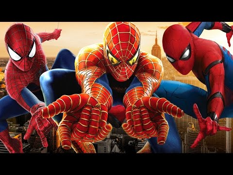 All SpiderMan Movie Story s 20022017 HD