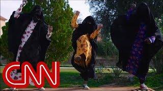 Saudi music video on women
