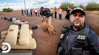 Homem é preso com droga em viagem de ônibus   Operação Fronteira: América do Sul   Discovery Brasil