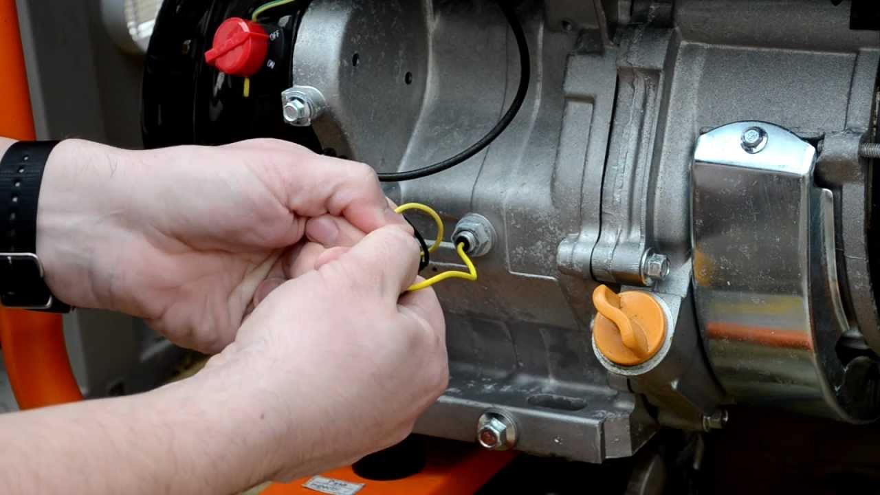 Add A Hi Temp Shutdown To Portable Generator Part 1