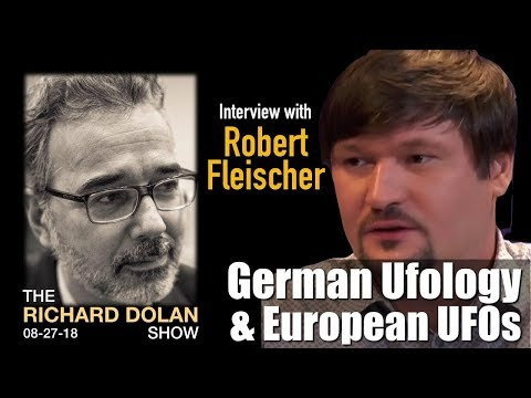 German Ufology and European UFOs Richard Dolan Show