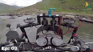 it was totally unexpected landscape | Patlian Lake Nala Crossing | High Altitude Moto Adventures