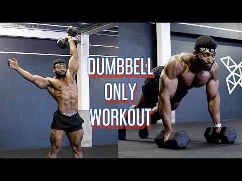 DUMBBELL ONLY WORKOUT | HIGH INTENSITY CONDITIONING TRAINING