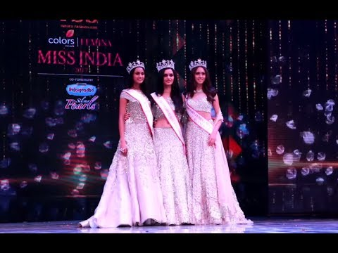 Fbb Colors Femina Miss India 2017: Crowning Moment
