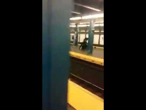 Fight In the train station 149 grand concourse